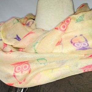 WISE Owl Infinity Scarf #hundredsofscarves